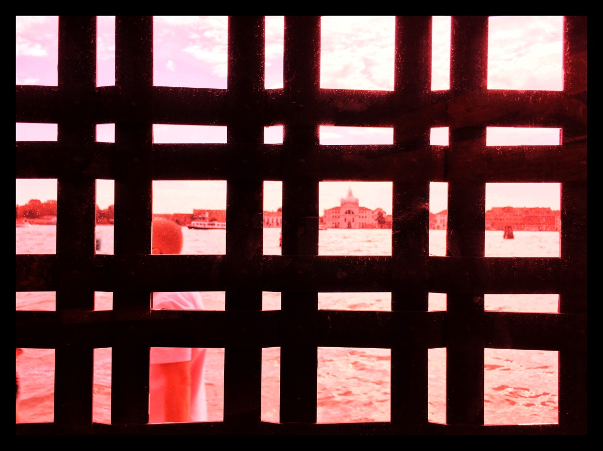 Caged (in Red)